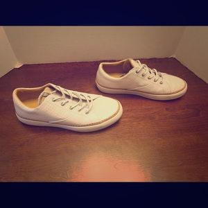 Sperry White Gold Cup Haven Shoes Size 9
